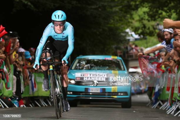 Jesper Hansen of Denmark and Astana Pro Team / during the 105th Tour de France 2018, Stage 20 a 31km Individual Time Trial stage from...
