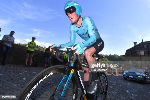 Jesper Hansen of Denmark and Astana Pro Team / during the 72nd Tour de Romandie 2018, Prologue a 4km individual time trial stage from Fribourg to...