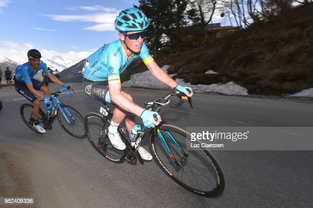 Jesper Hansen of Denmark and Astana Pro Team / during the 72nd Tour de Romandie 2018, Stage 4 a 149,2km stage from Sion to Sion on April 28, 2018 in...