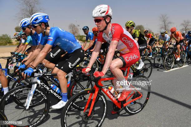 Jesper Hansen of Denmark and Team Cofidis, Solutions Crédits / Peloton / during the 6th UAE Tour 2020, Stage 3 a 184km stage from Al Qudra Cycle...