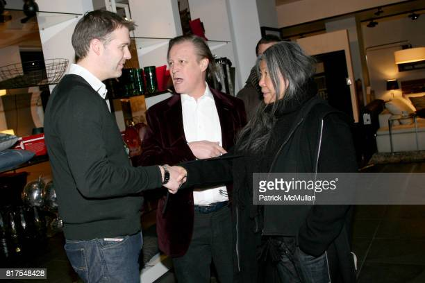 Jesper Joregensen Patrick McMullan and Yoehlee Tang attend 8th Annual BoCONCEPT/KOLDESIGN Holiday Party at Bo Concept Madison Ave on December 14th...