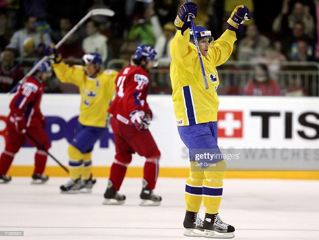 IIHF World Championship Gold Medal Game: Sweden v Czech Republic : News Photo