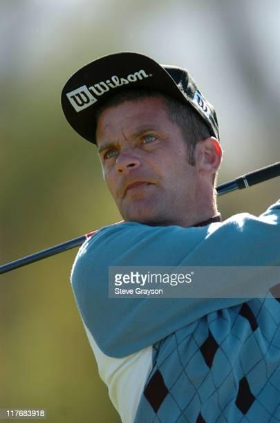 Jesper Parnivik in action during the final round of the PGA Tour's 2004 ATT Pebble Beach National ProAm at Pebble Beach Golf Links February 8 2004