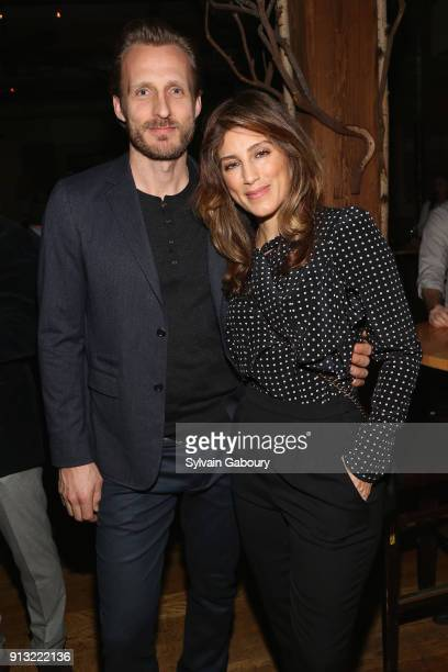 Jesper Vesterstrom and Jennifer Esposito attend The African Children's Choir ChangeMakers Gala at City Winery on February 1 2018 in New York City