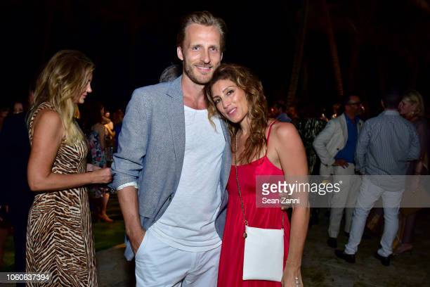 Jesper Vesterstrom and Jennifer Esposito attend the Dorado Beach A RitzCarlton Reserve Reopening on November 9 2018 in San Juan Puerto Rico