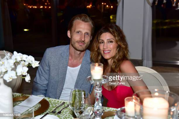 Jesper Vesterstrom and Jennifer Esposito attends the Dorado Beach A RitzCarlton Reserve Reopening on November 9 2018 in San Juan Puerto Rico