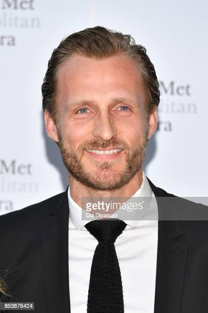 Jesper Vesterstrom attends the 2017 Metropolitan Opera Opening Night at The Metropolitan Opera House on September 25 2017 in New York City