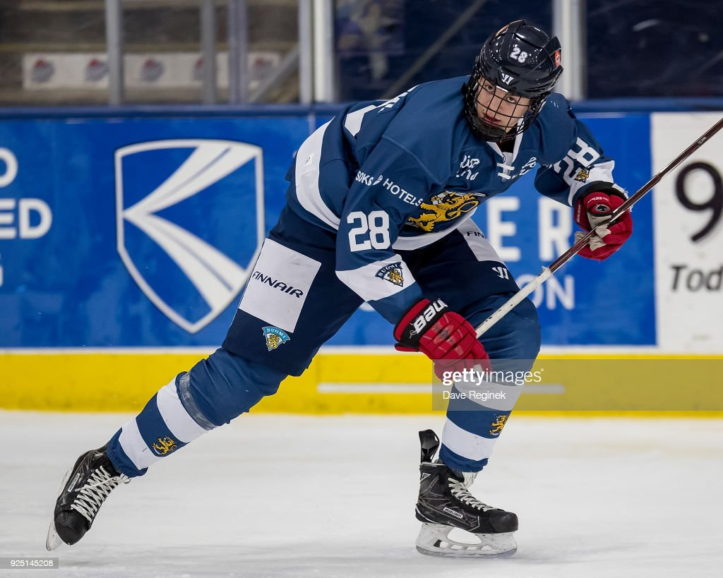 2018 Under-18 Five Nations Tournament - Finland v Russia : News Photo
