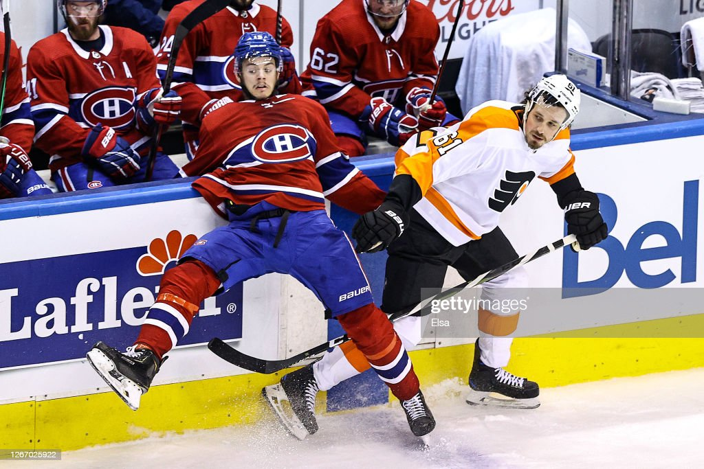 Philadelphia Flyers v Montreal Canadiens - Game Four : News Photo