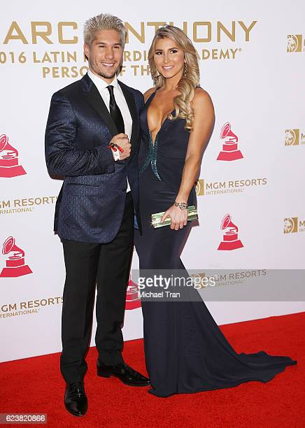 Jess Alberto Miranda Perez aka Chino arrives at the 2016 Latin GRAMMY Person of The Year honoring Marc Anthony held at MGM Grand Garden Arena on...