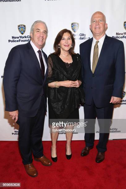 Jess Barker Wendy Barker and James O'Neill attend the New York City Police Foundation 2018 Gala on May 17 2018 in New York City