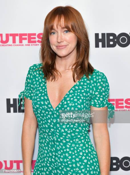 Jess Berry attends the Outfest Los Angeles LGBTQ Film Festival screening of Changing the Game centerpiece documentary at TCL Chinese 6 Theatres on...