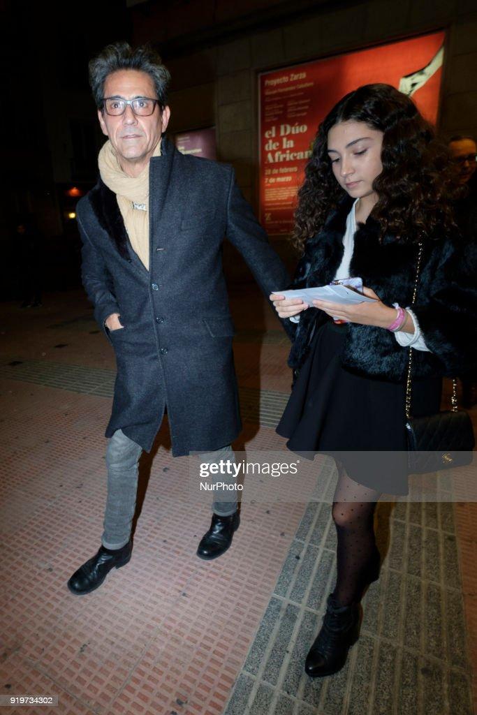 Celebrity Sightings in Madrid