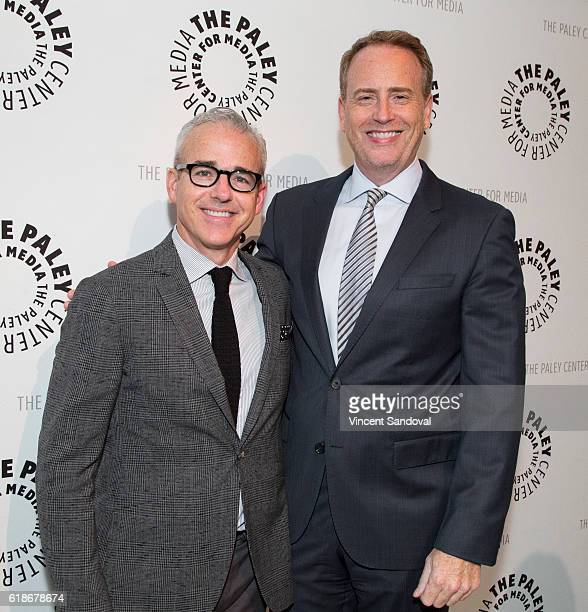 Jess Cagle Editorial Director Entertainment Weekly/People and Robert Greenblatt Chairman of NBC Entertainment attend Paley Center For Media Presents...