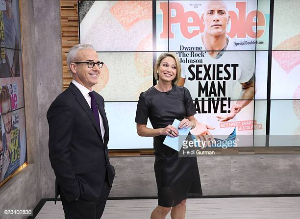 """Jess Cagle of People Magazine is a guest on """"Good Morning America,"""" Tuesday, November 15 airing on the Walt Disney Television via Getty Images..."""
