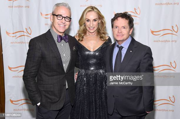 Jess Cagle Tracy Pollan and Michael J Fox attend A Funny Thing Happened On The Way To Cure Parkinson's benefitting The Michael J Fox Foundation on...