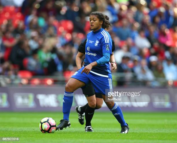 Jess Carter of Birmingham City LFC during The SSE FA Women's CupFinal match betweenBirmingham City Ladies v Manchester City women at Wembley stadium...