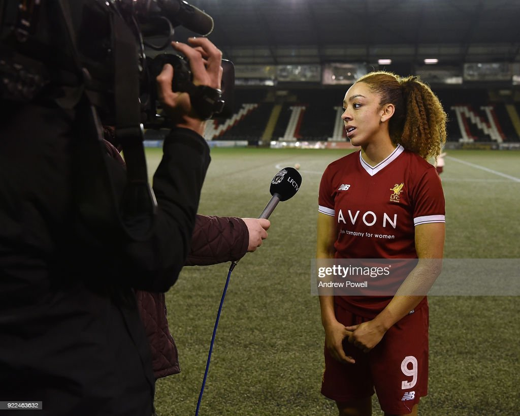 Liverpool Ladies v Sunderland Ladies: FA WSL 1 : Fotografía de noticias