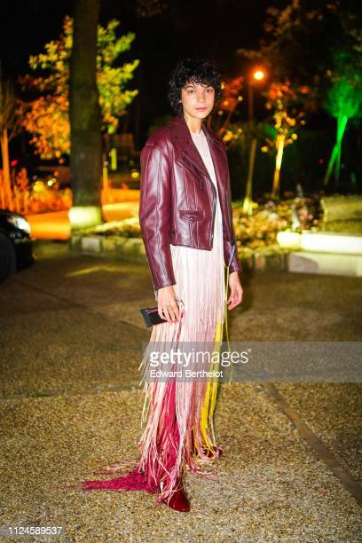 Jess Cole attends 17th 'Diner De La Mode' To Benefit Sidaction At Pavillon d'Armenonville as part of Paris Fashion Week on on January 24 2019 in...