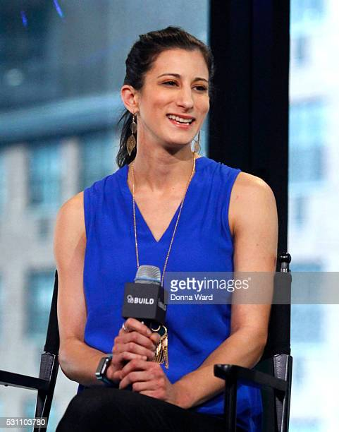 Jess Edelstein appears to discuss Shark Tank during the AOL BUILD Speaker Series at AOL Studios In New York on May 12 2016 in New York City