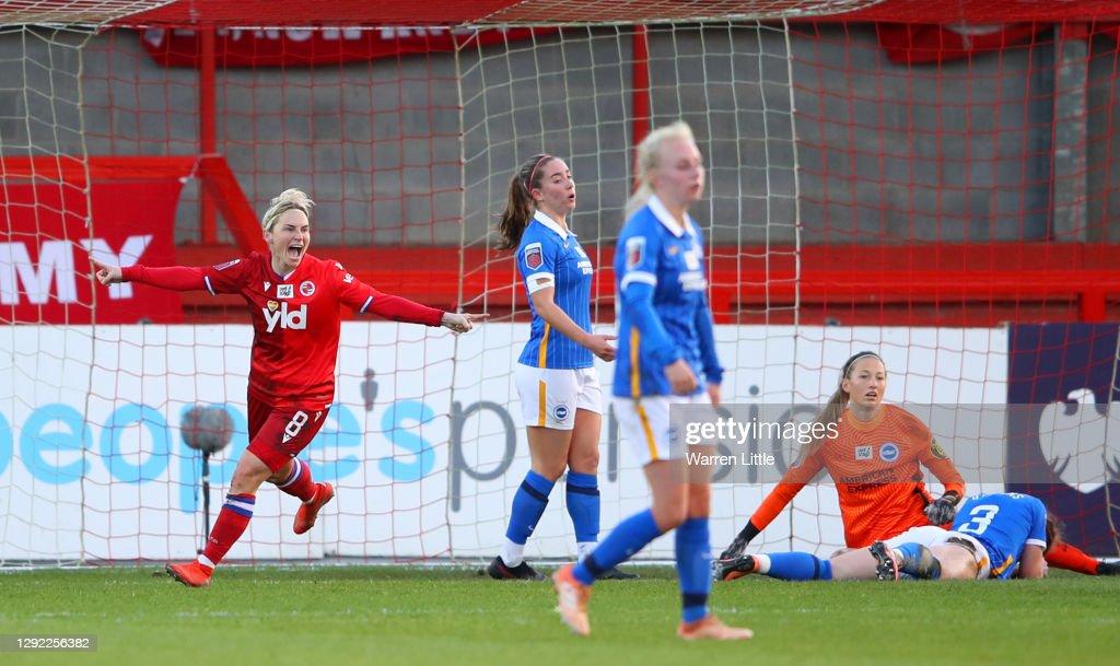 Brighton & Hove Albion Women v Reading Women - Barclays FA Women's Super League : News Photo