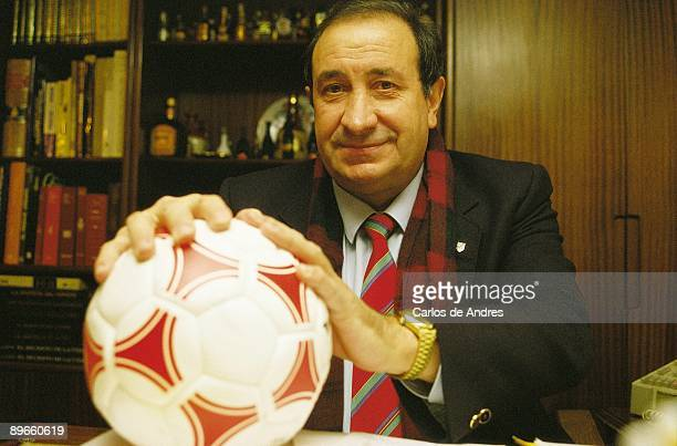 Jesús Gil manager politician and president of the Atletico de Madrid