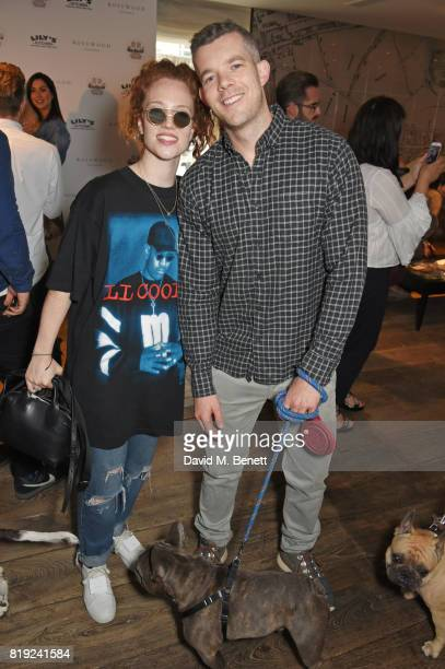 Jess Glynne and Russell Tovey attend the launch of Rosewood's Canine Luxury Experience and the Barbour Dogs Loyalty Scheme hosted by Rosewood London...