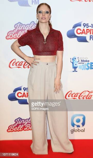 Jess Glynne at Capital's Jingle Bell Ball with CocaCola during day two at The O2 Peninsula Square
