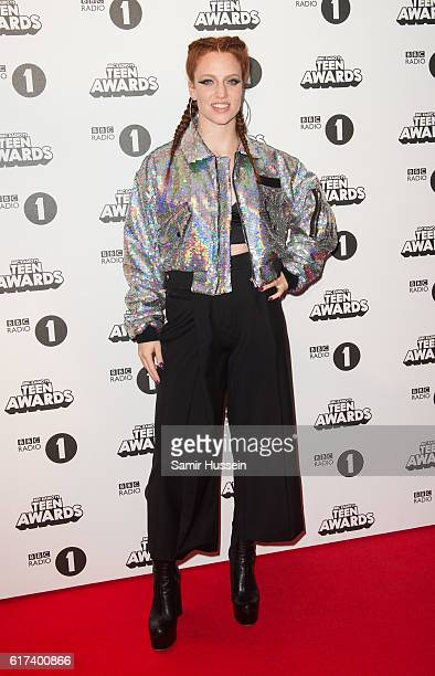 Jess Glynne attends BBC Radio 1's Teen Awards at SSE Arena Wembley on October 23 2016 in London England