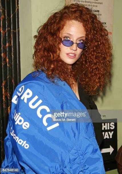 Jess Glynne attends Fiorucci The Resurrection LFW Party supported by Martini at L'Escargot on September 15 2017 in London England