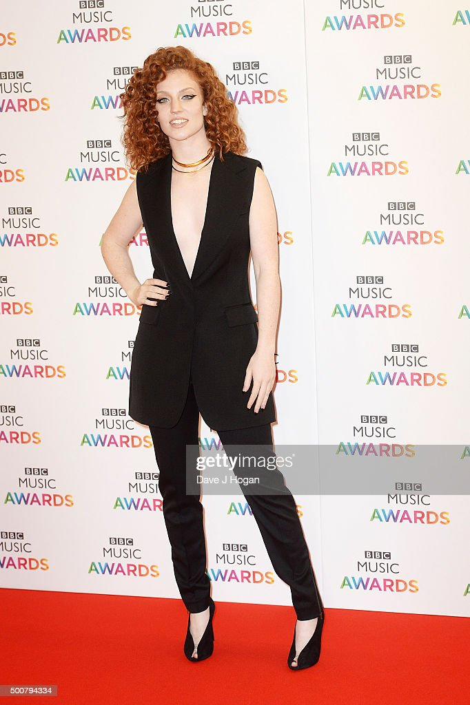 Jess Glynne attends the BBC Music Awards at Genting Arena on December 10, 2015 in Birmingham, England.