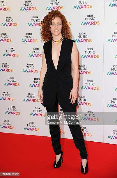 Jess Glynne attends the BBC Music Awards at Genting Arena on December 10 2015 in Birmingham England