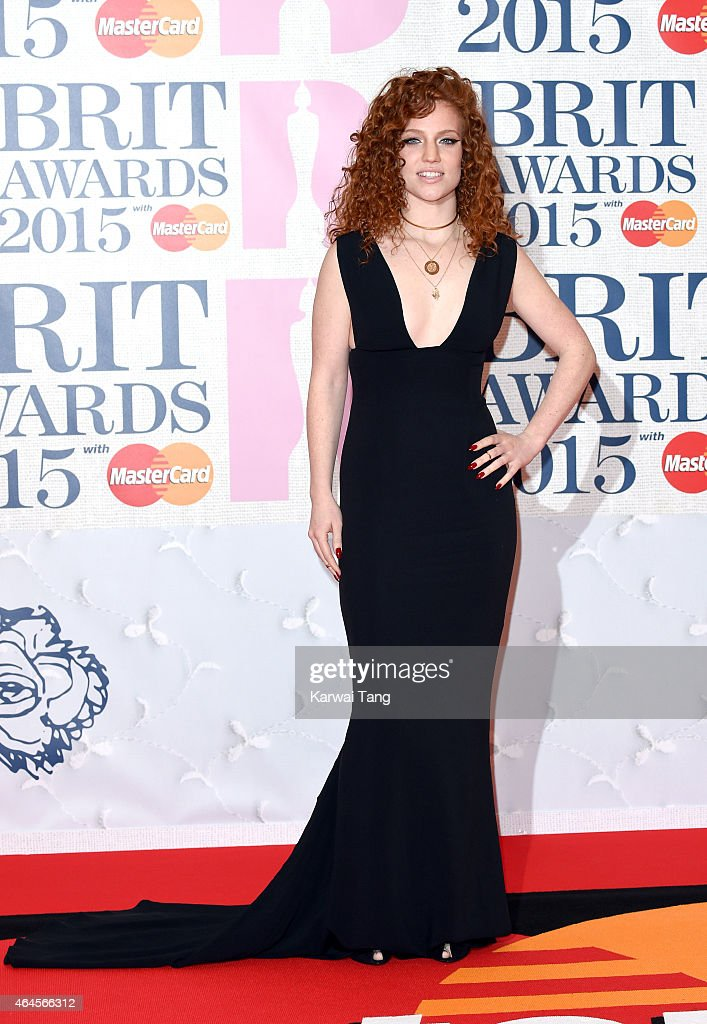 Jess Glynne attends the BRIT Awards 2015 at The O2 Arena on February 25, 2015 in London, England.