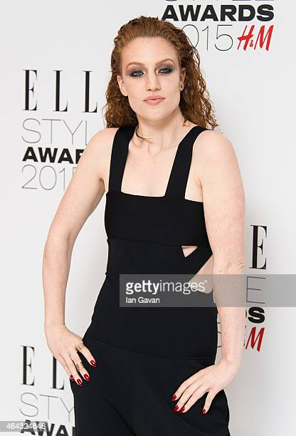 Jess Glynne attends the Elle Style Awards 2015 at Sky Garden @ The Walkie Talkie Tower on February 24 2015 in London England