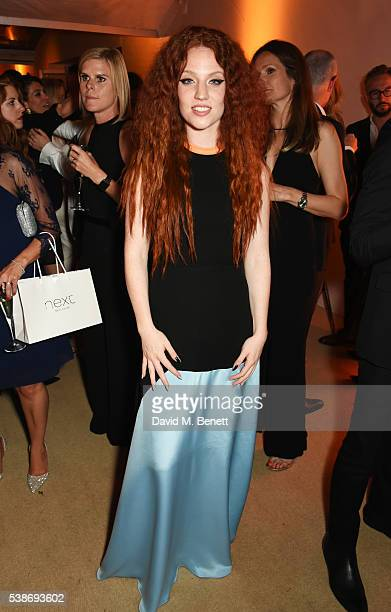 Jess Glynne attends the Glamour Women Of The Year Awards after party in Berkeley Square Gardens on June 7 2016 in London United Kingdom