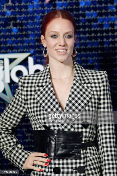 Jess Glynne attends The Global Awards 2018 at Eventim Apollo Hammersmith on March 1 2018 in London England