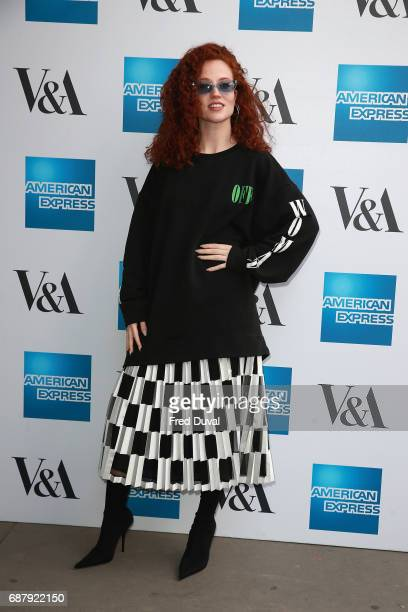 Jess Glynne attends The VA Opens Spring 2017 Fashion Exhibition Balenciaga Shaping Fashion at The VA on May 24 2017 in London England