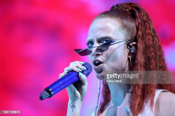 Jess Glynne performs at BIC on December 2 2018 in Bournemouth England