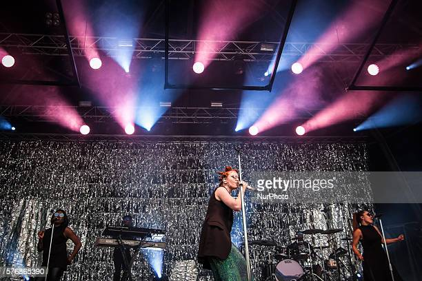 Jess Glynne performs at day 4 of the Benicassim International Festival in Benicassim on July 17 2016