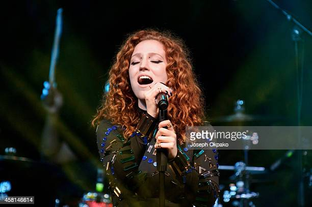 Jess Glynne performs at Electric Brixton on October 30 2014 in London England