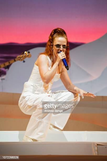 Jess Glynne performs at First Direct Arena on November 25 2018 in Leeds England