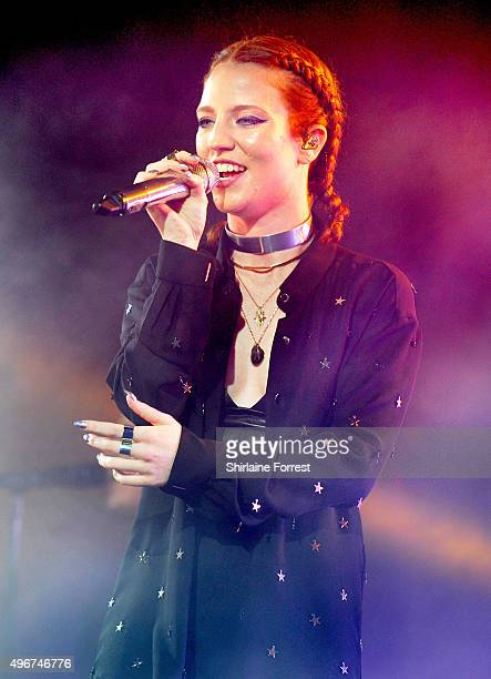 Jess Glynne performs at Manchester Academy on November 11 2015 in Manchester England