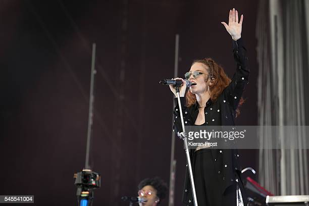 Jess Glynne performs at Marlay Park on July 8, 2016 in Dublin, Ireland.