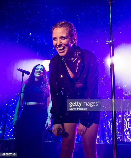 Jess Glynne performs at The Roundhouse on November 4 2015 in London England