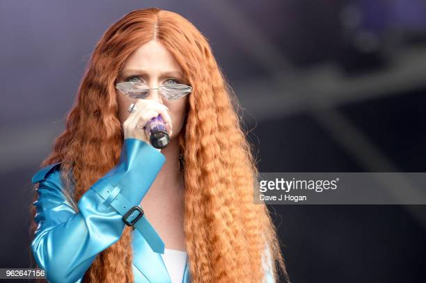 Jess Glynne performs during day 1 of BBC Radio 1's Biggest Weekend 2018 held at Singleton Park on May 26 2018 in Swansea Wales