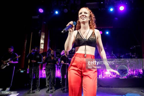 Jess Glynne performs in concert at sala Apolo on March 2 2019 in Barcelona Spain