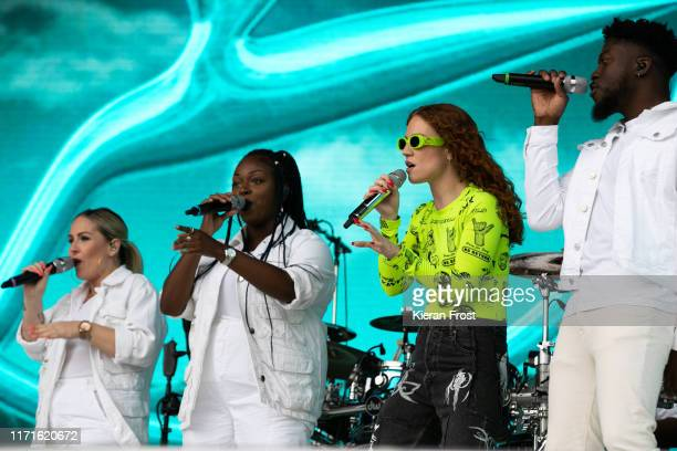 Jess Glynne performs on stage during Electric Picnic Music Festival 2019 at on September 1, 2019 in Stradbally, Ireland.
