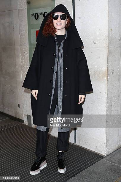Jess Glynne seen at BBC Radio One on March 9 2016 in London England