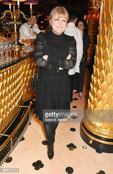 Jess Hallett attends the Another Man Spring/Summer Issue launch dinner in association with Kronaby at Park Chinois on March 21 2017 in London England