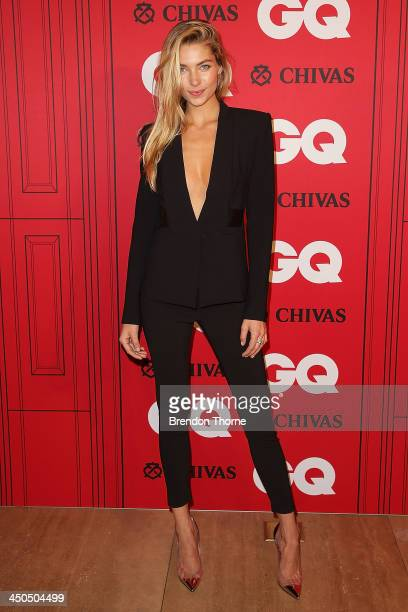 Jess Hart arrives at the GQ Men of the Year awards at the Ivy Ballroom on November 19 2013 in Sydney Australia